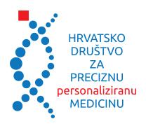 Hrvatsko društvo za preciznu personaliziranu medicinu Logo